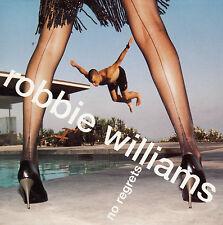"CD SP 2T ROBBIE WILLIAMS  ""NO REGRETS"""