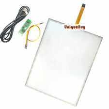 """322x247mm Touch Digitizer 5Wire + USB Controller for 15"""" LCD Monitor Glass Panel"""