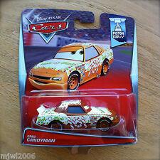 Disney PIXAR Cars GREG CANDYMAN No. 101 TACH-O-MINT diecast PISTON CUP 9/18 2015