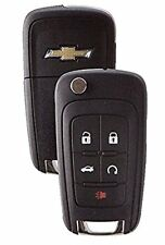 Chevrolet 2010-2016 5 Button Remote Start Flip Key