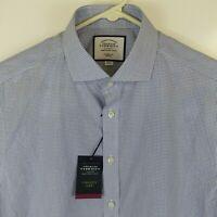 Charles Tyrwhitt Mens Size 16 I 35 Button Up Long Sleeve Dress Shirt Classic Fit