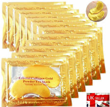 160x Premium Crystal Collagen Gold Powder Eye Masks Face Anti Ageing Wrinkle