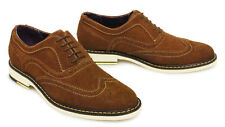 Suede Formal Vintage Shoes for Men