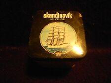 LONDON DOCK Vintage SMALL Skandinavik Mixture TOBACCO TIN