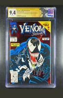 Venom Lethal Protector 1 CGC 9.4 8 signed! Bagley Michelinie Milgrom Zeck + more