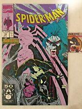 Spider-Man #14 1991 Black Costume Sub-City Part 2 VF/NM Todd McFarlane