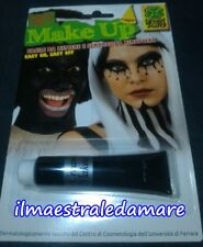 Fondotinta Nero Carnevale Trucco Make-up Cosplay Halloween Party Scherzo Cerone