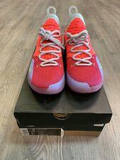 Nike Zoom KD11 EYBL Peach Jam Men Size 10 Hot Punch Lime Blast Shirt/sweatpants