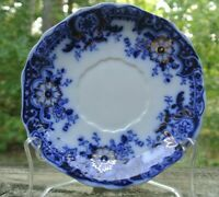 Antique Brooklyn Flow Blue by JOHNSON BROTHERS Saucer