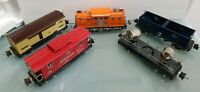 Lionel 6-51001 Classic #44 Freight Cars Special Tinplate O Gauge Set of 5