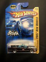 Hot Wheels 2007 New Models #15/36 1966 TV SERIES BATMOBILE Black w/Chrome 5Sp