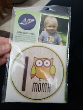 Baby Monthly Stickers - First Year Stickers for Infant - Belly Stickers