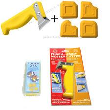 Set: Fugenmesser +  Fugenabzieher - Fugenglätter Fugenspachtel für Silkonfugen