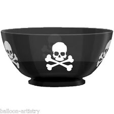Pirate Poison Halloween Party Large Plastic Snack Treat Punch Party Bowl