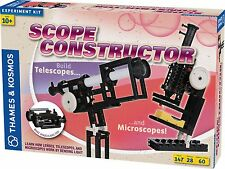 Scope ConstructorExperiment Science Kit Thames & Kosmos Telescope Microscope