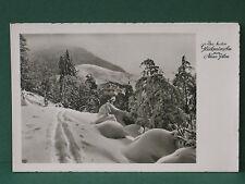 ältere AK von 1957 Glückwünsche zum neuen Jahr Glückwunschkarte Ansichtskarte