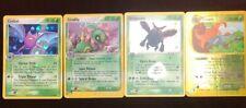 Pokemon Trading Card Game 4 Holographic Grass Lot Heracross Cradily Crobat Gloom