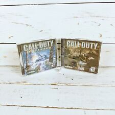 Call of Duty and Call of Duty: United Offensive (Expansion Pack) for PC