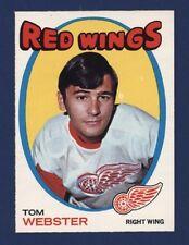 1971-72 O-Pee-Chee #78 TOM WEBSTER  Nmmt to Nmmt+ Detroit Red Wings!!
