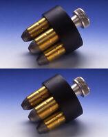 (2 PACK) HKS Revolver Speedloaders 22 32 327 357 38 41 44 45 Cal., optional case