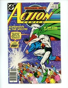 Action Comics #596,VF+ ,1988