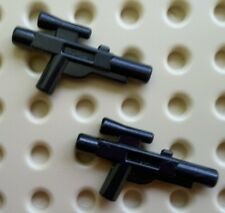 Lego 58247 Minifig, Weapon Gun, Black,  Blaster Short (Star Wars) X 2