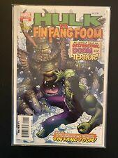 Hulk vs. Fin Fang Foom 1 High Grade Marvel Comic Book D2-178