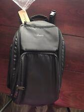 Mancro Waterproof Diaper Backpack-Black