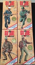 "1996 12"" GI Joe WWII LE Action Soldier Sailor Pilot Lot of 4 -African American"