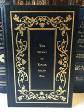The Works of Edgar Allan Poe - leather-bound -  Good+