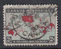"Canada Scott #86 2c black, blue & carmine ""Imperial Penny Postage""  **"