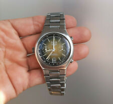 Vintage Heuer Daytona Cal 12 Ghost Gold Dial Automatic Steel Chronographs 1970's