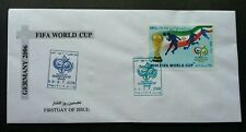 I RAN Germany FIFA World Cup Football 2006 Sport Games (stamp FDC)