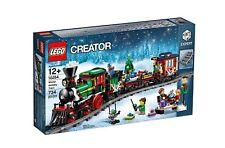 LEGO CREATOR Exklusiv Eisenbahn Festlicher Weihnachtszug Holiday Train 10254