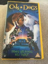cats and dogs vhs video region 2 comedy bargain PAL