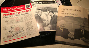 1966 The Republican Magazine & 2 Other Republican Vintage Printings