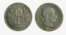 pci5032)   Franz Joseph I 1 Korona 1895 AG