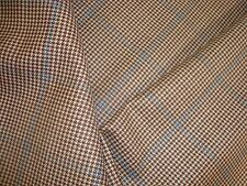 "2.3 yds Super Fine WOOL HOUNDSTOOTH CHECK 9 oz FABRIC SUIT JACKET 61"" x 84"" BTP"