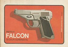 X9399 Pistola FALCON 13 colpi supermatic - Pubblicità 1975 - Advertising