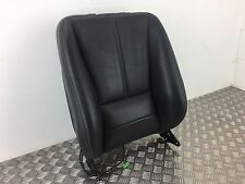 MERCEDES ML W163 INSPIRATION FRONT SEAT BACK REST BLACK PERFORATED LEATHER