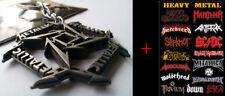 METALLICA Schlüsselanhänger-Grau + Geschenk