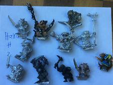 warhammer metal skaven with handweapons. Oop 80ies minis 2