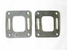 2 Exhaust Manifold Elbow Riser Gaskets For Mercruiser Restricted Flow 0528