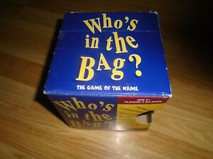 Who's in the Bag? Family Game Boxed Paul Lamond Games