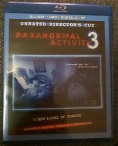 Paranormal Activity 3 (2 Disc, Blu-ray + DVD, Directors Cut Unrated)