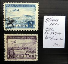 ALBANIA 1950 Airmails As Described Fine/Used NF205