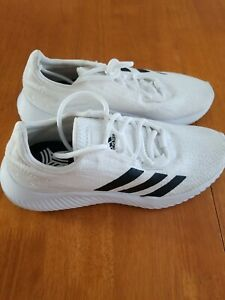 NEW Adidas Predator Indoor Turf Soccer Shoes White Mens Sz 6.5