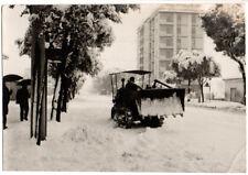 FOTO ORIGINALE - CARRARA CON LA NEVE - VIALE XX SETTEMBRE - FEBBRAIO 1963
