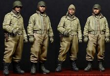 Alpine Mins 35116 WW2 US AFV Crew 2 Figure Set 1/35th Unpainted kit