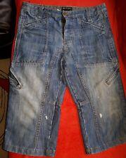 Mens stylish jeans shorts Waist 36in(81cm) Blue Stonewash